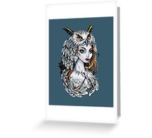 Forest witch  Greeting Card