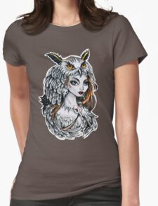 Forest witch  Womens Fitted T-Shirt