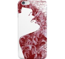 Sensuality, face iPhone Case/Skin