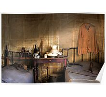 Ned Kelly Home - Ned's room Poster