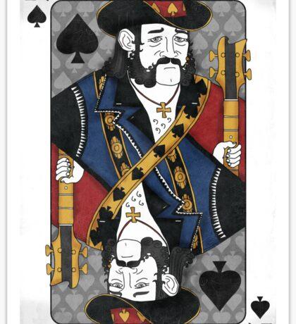 Lemmy - King of Spades - Tribute to Motorhead Sticker