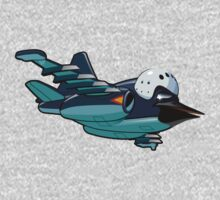Cartoon Jetbird One Piece - Long Sleeve