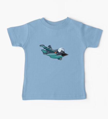 Cartoon Jetbird Baby Tee