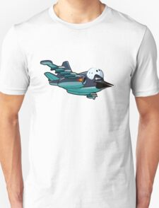 Cartoon Jetbird Unisex T-Shirt