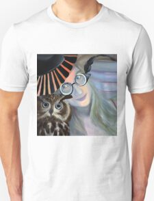 Who are you calling 4 eyes, 2011, 50-50cm, oil on canvas T-Shirt