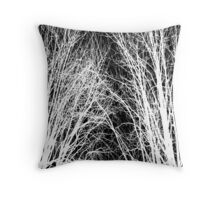 Comely trees 1 Throw Pillow