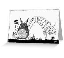 GHIBLI X BURTON: Totoro Greeting Card