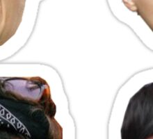 foursome head pack Sticker