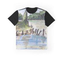 The fishing spot Graphic T-Shirt