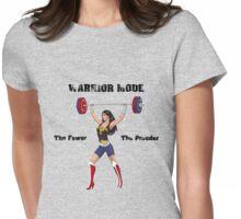 Warrior Mode (Dress Blues) Womens Fitted T-Shirt