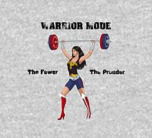 Warrior Mode (Dress Blues) Womens Fitted T-Shirt