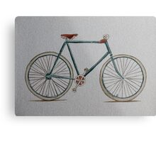 Putting the cycle in recycled! Metal Print