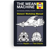 Haynes Manual - Mean Machine - Poster and stickers Canvas Print