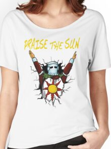 3D praise the sun Women's Relaxed Fit T-Shirt