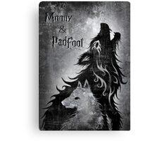 Moony & Padfoot Canvas Print