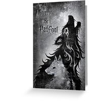 Moony & Padfoot Greeting Card