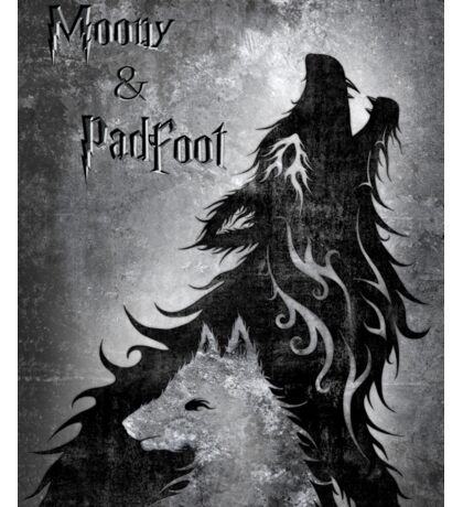 Moony & Padfoot Sticker