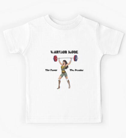 Warrior Mode (Silkies) Kids Tee