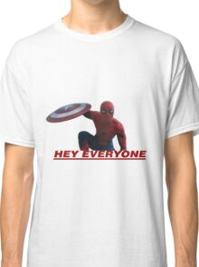 Hey Everyone - Spider-Man Classic T-Shirt