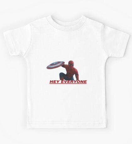 Hey Everyone - Spider-Man Kids Tee