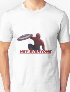 Hey Everyone - Spider-Man Unisex T-Shirt