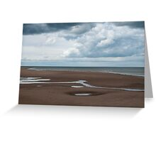 Big Skies and Beautiful Beaches 1 - Brancaster, Norfolk Greeting Card
