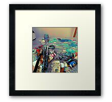 The Palette Framed Print