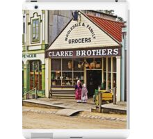 Sisters at Clarke Brothers - Main Street, Sovereign Hill iPad Case/Skin