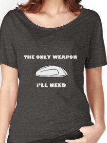 Gaming Mouse - The Only Weapon I Need Women's Relaxed Fit T-Shirt