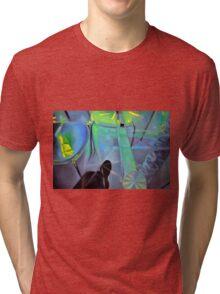 Revealing table, 2011, 120-80cm, oil on canvas Tri-blend T-Shirt