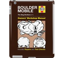Haynes Manual - The Boulder Mobile - T-shirt iPad Case/Skin