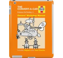 Haynes Manual - Convert-a-car - T-shirt iPad Case/Skin