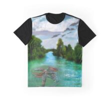 Water Dragon Graphic T-Shirt