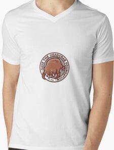 Save the Headcrab Mens V-Neck T-Shirt