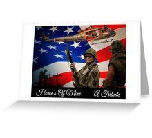 Heroe's of Mine, A Tribute Greeting Card