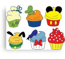 Fab Cupcakes Canvas Print