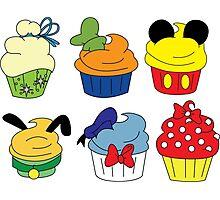 Fab Cupcakes Photographic Print