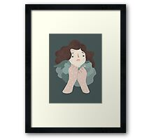 Windy / by Frau Isa / For SPOT THE DOT Framed Print