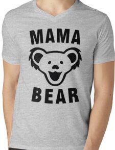 MAMA BEAR Mens V-Neck T-Shirt