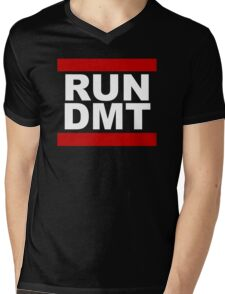 RUN DMT Mens V-Neck T-Shirt