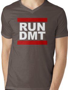 RUN DMT Mens V-Neck T-Shirt