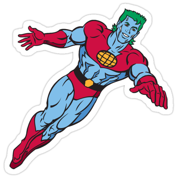 Captain Planet by RichSteed