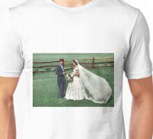 Coloized JFK & Jackie as Newly Weds 1953 Unisex T-Shirt
