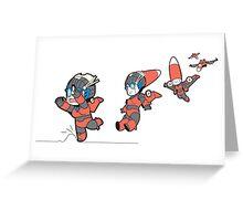 transformers windblade Greeting Card