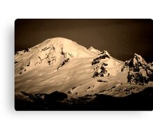 mt baker, washington, usa Canvas Print