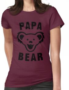 PAPA BEAR Womens Fitted T-Shirt