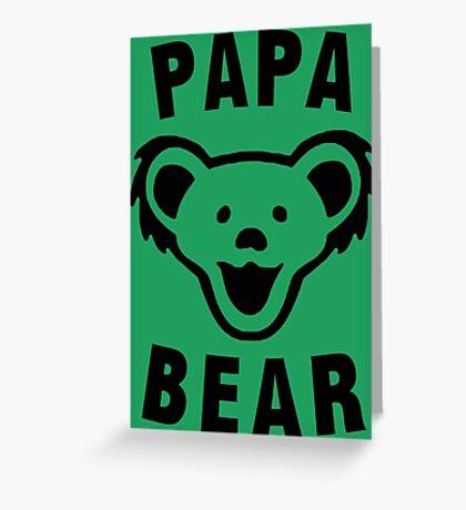 PAPA BEAR Greeting Card