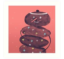 Spotti / By Megasingi / For SPOT THE DOT Art Print