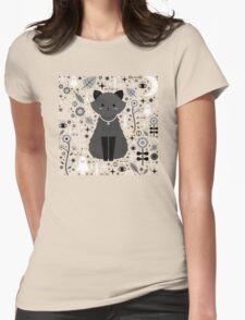 Kitten Fang Womens Fitted T-Shirt