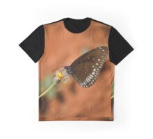 Common Crow Butterfly, India. Graphic T-Shirt